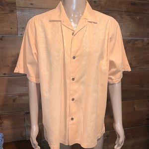 Tommy Bahama Mens Orange Relaxed T-Shirt SZ.L